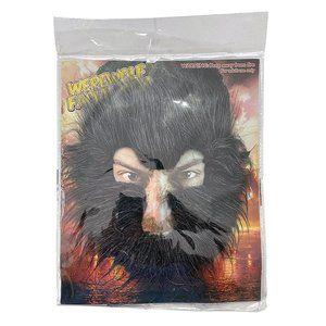 WEREWOLF Facial Hair - Halloween Adult - Salt & Pepper Gray